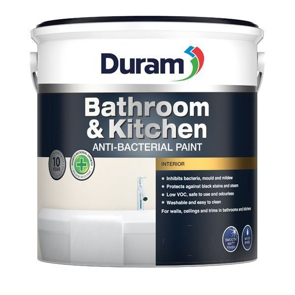 DURAM BATHROOM & KITCHEN WHITE 1LT SOUTH AFRICA