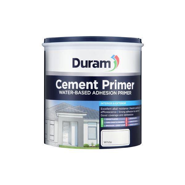DURAM CEMENT PRIMER WHITE 1L SOUTH AFRICA