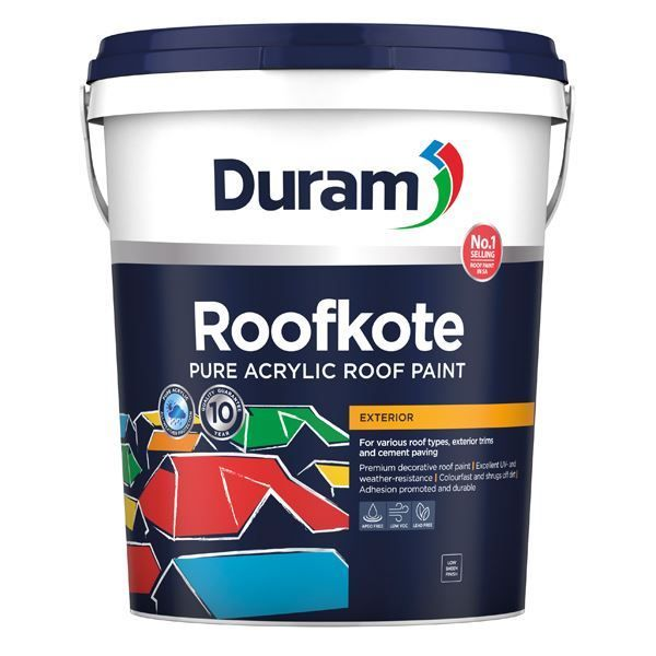 DURAM ROOFKOTE WHITE 20L SOUTH AFRICA