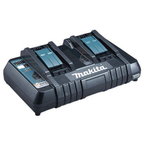 MAKITA 18V LXT® Lithium‑Ion Dual Port Rapid Optimum Charger SOUTH AFRICA