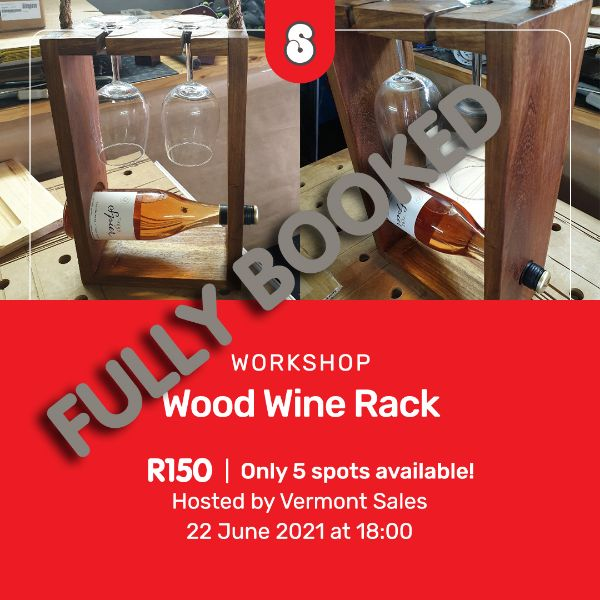Picture of WOODEN WINE RACK - HOSTED BY VERMONT