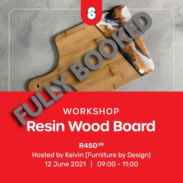 Picture of RESIN WOOD BOARD WITH KELVIN