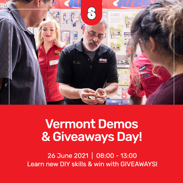 Picture of VERMONT DEMO & GIVEAWAYS 26th June