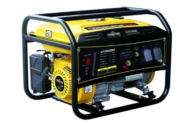 LIVINGSTONE Generator 5.5 kVa 4 Stroke Recoil Start Petrol SOUTH AFRICA