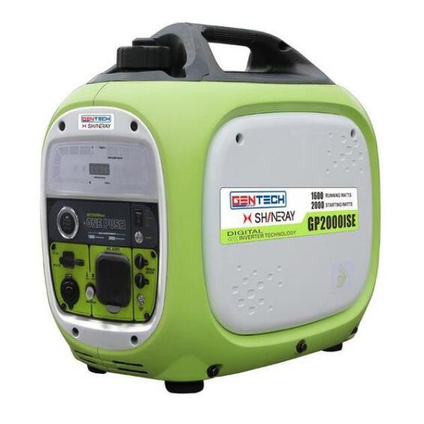 GENTECH INVERTER GENERATOR 2KVA ELECTRIC START GREEN SOUTH AFRICA